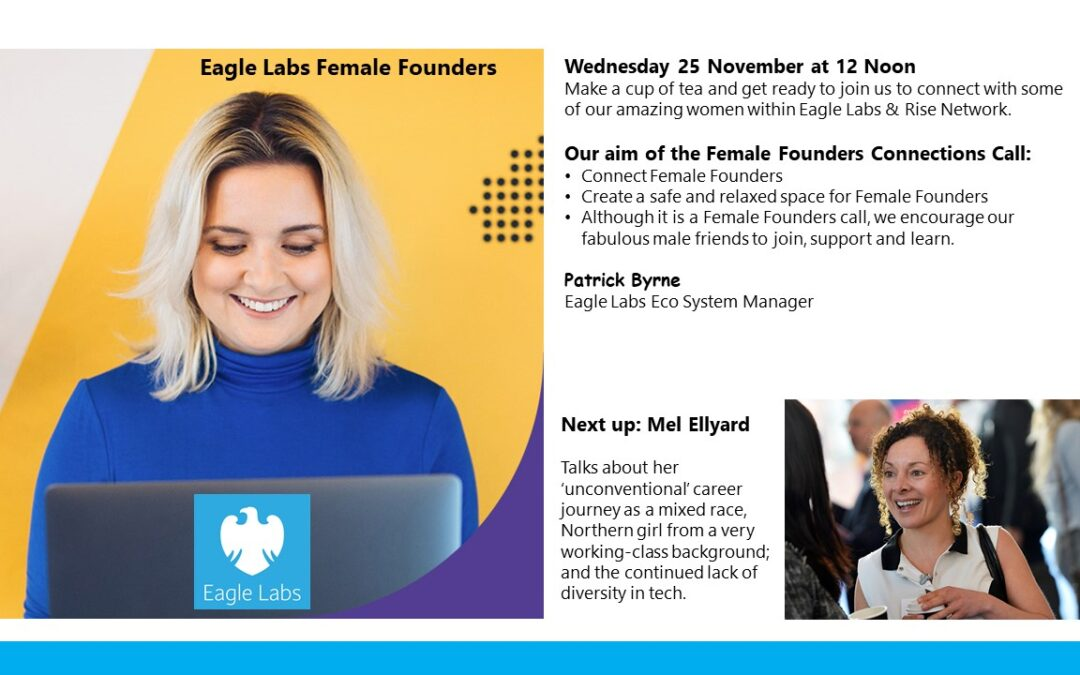 Chatting to Female Founders | Barclays Eagle Labs | 25 Nov
